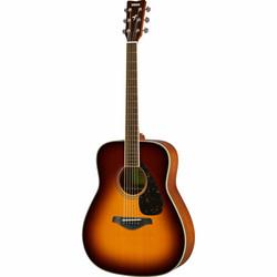 Yamaha FG-820BSB IITeräskielinen kitara - Brown Sunburst