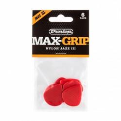 Dunlop soittolehti Max-Grip Jazz III - RED