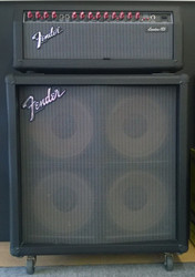Fender London 185 head + Wedge 410 speakers (käytetty)