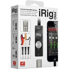 iRig Pro I/O Audio - Midi interface