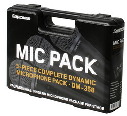 Supreme DM358 Vocal Mic Pack -mikrofoni