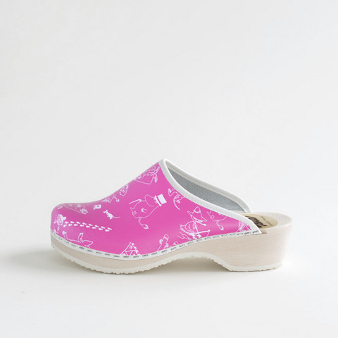 Clogs Moomin, pink