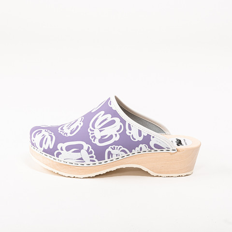 Clogs Meadow, lavender