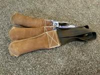 Berra nahkainen tottispatukka 15cm