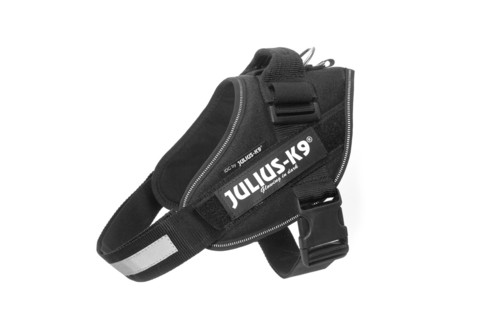 Julius-K9 IDC -powerharness musta