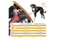Julius-K9 IDC -powerharness musta