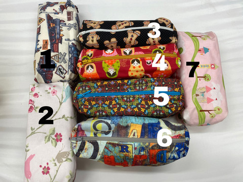 Pencil case, several patterns