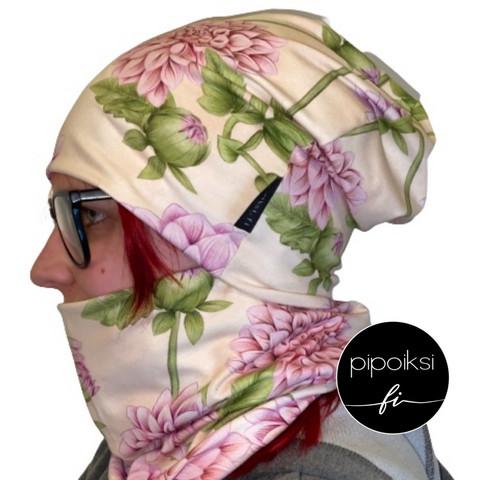 Ready made product. Tubular scarf, Daalia. Several colors.