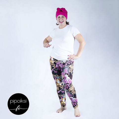 Ready made product.  Leggings for adults, Kattikaverit S-XXXL