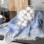 Blueberry Hamam Hand Towel