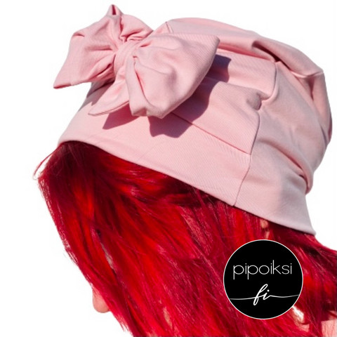 Ready made product. Bow beanie. Several colors.
