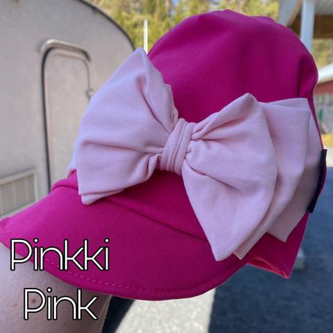 Custom made. Cap beanie with bow. Personalized.  XS-XXXL