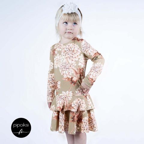 Custom made product. Frilladress. Several designs. 74-158cm