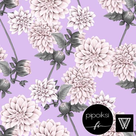 Organic jersey: Daalia, light purple