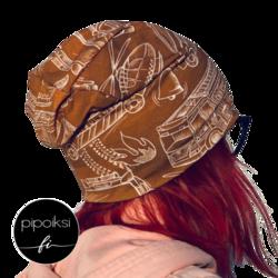 Custom made product. Piipaa wrinkled beanie.