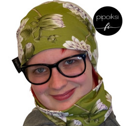 Ready made product. Tubular scarf, Daalia. Several colors.