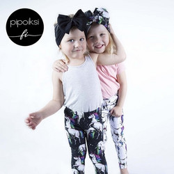 Ready made product. Leggings for kids, Myytti jersey. Several colors.