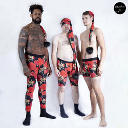 Custom made product. Men's underpants. Several different patterns. S-XXXL
