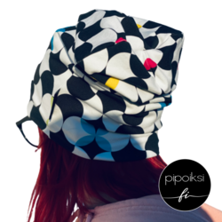 Colorful wrinkled beanie, available. **CLEARANCE SALE**