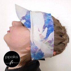 Custom made. Cap hairband. Several colors. XS-XXXL