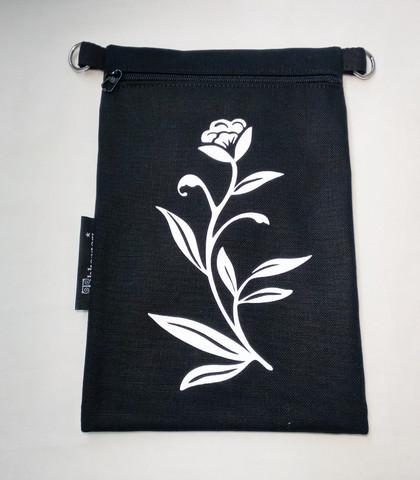 Heijastava kännykkäpussi Kukka