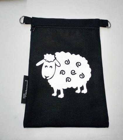 Heijastava kännykkäpussi Lammas