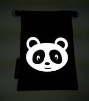 Heijastava kännykkäpussi Panda