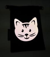 Heijastava kännykkäpussi Kissa