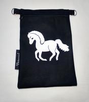 Heijastava kännykkäpussi Hevonen