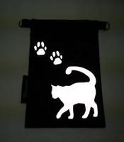 Heijastava kännykkäpussi Kissa ja tassut