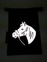 Heijastava kännykkäpussi Hevonen2