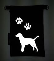 Heijastava kännykkäpussi Labradorinnoutaja