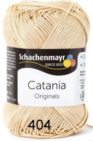 Schachenmayr Catania, 50g, väri 00404 hiekka