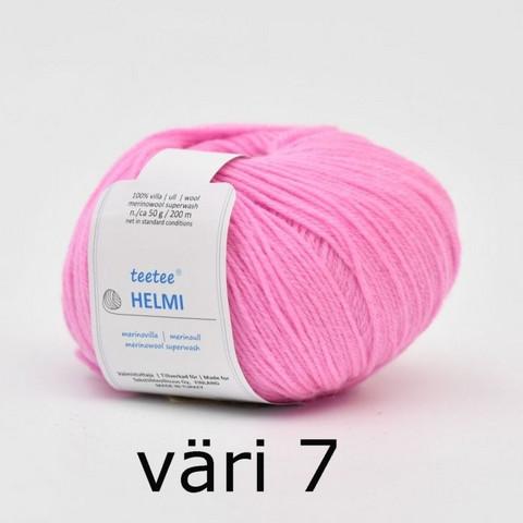 teetee Helmi, väri 7, roosa