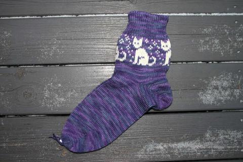 Kissasukat, koko 38-39, violetti väri