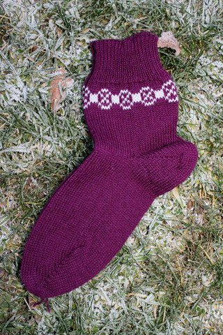 Lyhytvartiset Tulentallojan sukat, koko 36-37, värikoodi 1021
