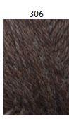 Teetee Alpakka plus, 50g, väri 306, ruskea