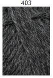 Teetee Alpakka plus, 50g, väri 403, tumman harmaa