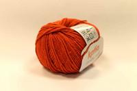 Katia Rustic Silk, väri 86, oranssi