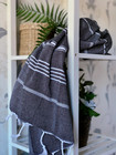 Sultan Hammam Towel Dark Grey