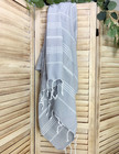 Sultan Hammam Towel Light Grey