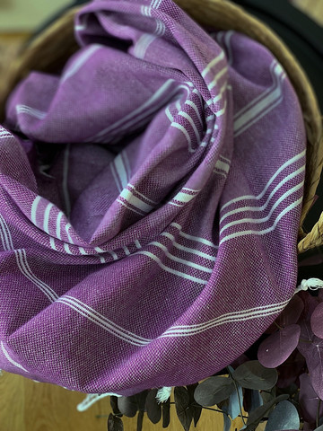 Sultan Hammam Towel Purple