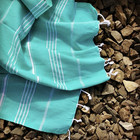 Sultan Hammam Towel Mint