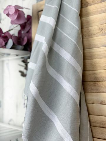 Athena Hammam Towel Light Grey