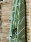 Sultan Hammam Towel Khaki Green
