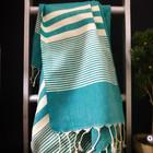 Aegean Hammam Towel Petrol Green