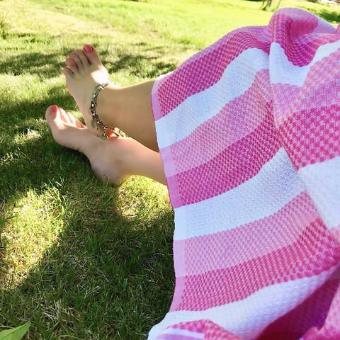 Beach Hammam Towel Pink