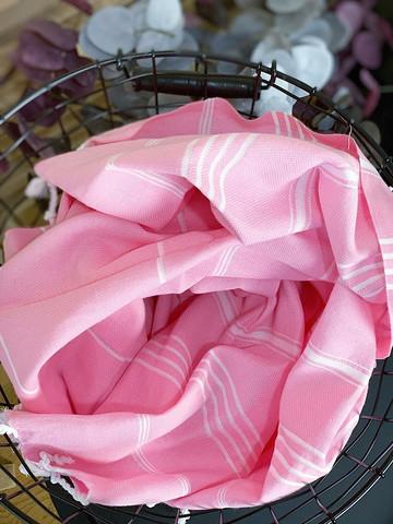 Sultan Hamam-pyyhe Vaaleanpunainen