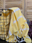 Athena Hammam Towel Warm Yellow