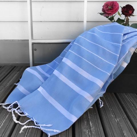Athena Hamam Handduk Baby Blue